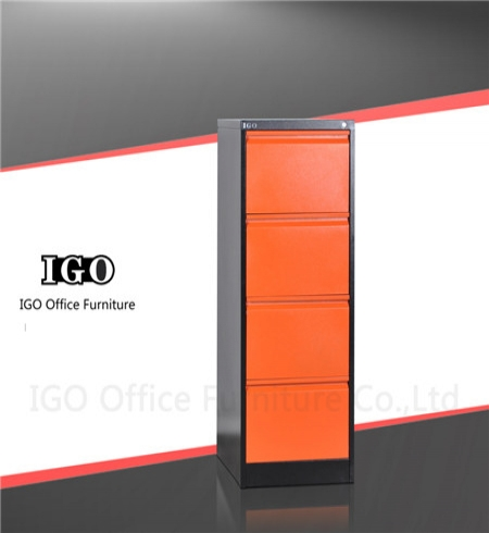 IGO-D04 New design 4 Drawer Metal Filing Cabinet