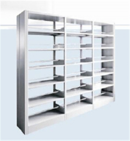IGO-BS01 Steel Library Bookshelf with Double Sides