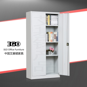 Steel file cabinets help to improve space utilization