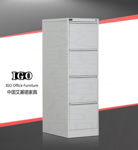 IGO-D04 4 Drawer Vertical Filing Cabinet